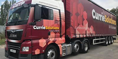 Currie Solutions lorry